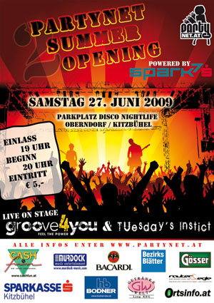 Partynet Summer Opening